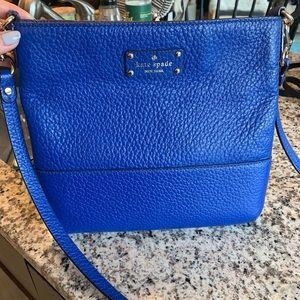 Kate Spade Cobalt Blue Crossbody Bag